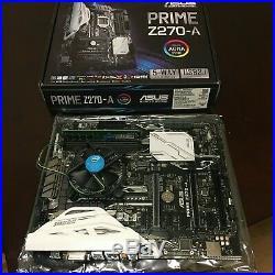 ASUS PRIME Z270-A LGA1151 Intel Motherboard / i3 CPU Combo Kit with 4GB Ram