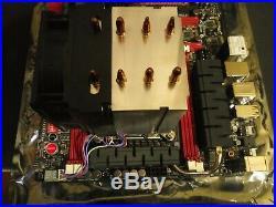 ASUS Rampage IV Formula LGA 2011 Motherboard WithIntel i7 3930k, and CPU Cooler