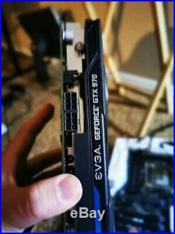 ASUS X99-A II, I7 6850K, GTX 970 two Card SLI Full PCIE 16X Speed, 16G 2400 RAM