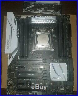 ASUS X99-DELUXE II & i7 6800k combo
