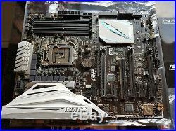 ASUS Z170-A motherboard with Intel i5 6600k & Alpenföhn Matterhorn Pure cooler
