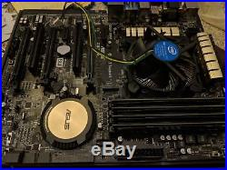 ASUS Z97-A Motherboard withIntel Core i5-4570 3.20 GHz and 32GB DDR3 1600 MT/s RAM