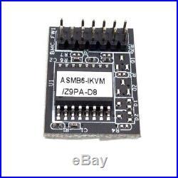 ASUS Z9PA D8 E5 2620V2 32GB Rev 1.02 MotherBoard W\IPMI