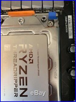 ASUS Zenith Extreme X399 Motherboard & EK monoblock & Threadripper 2950X & 32G