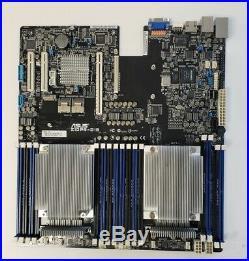 ASUS motherboard Z10PR-D16 Socket 2011-3 with 2 x Xeon E5-2620 V3 cpu /1U heatsink