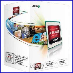 Amd A4 6300 Cpu Asrock Fm2a68m-dg3+ DVI & Vga Motherboard Gaming Upgrade Bundle
