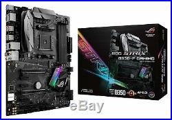 Amd Ryzen 5 1600 CPU 6 Cores with ASUS ROG STRIX B350-F Gaming MB Bundle Sealed