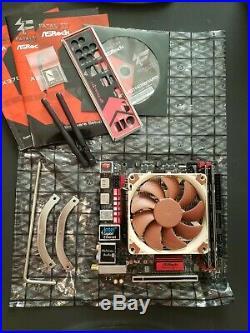 Amd Ryzen 5 2400g, Asrock X370 Itx Motherboard, 8gb Ddr4 Ram, Noctua Lp Cooler