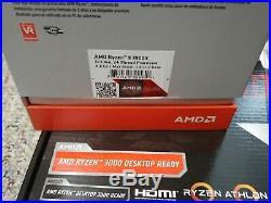 Asrock B450M-HDV R4.0 Motherboard with Ryzen 7 3900X/16GB DDR4 3200