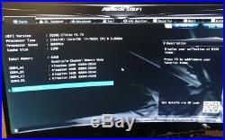 Asrock X299E-ITX/AC Motherboard + i7-7820X + 64GB DDR4 + Samsung M. 2 2280 NVMe