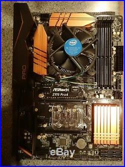 Asrock Z170 Pro4 Intel I5 6500 Processor Combo