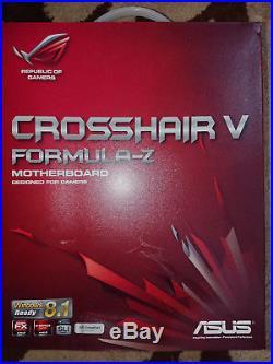 Asus Crosshair Formula Z AMD M/B Inc AMD FX8350 8 Core CPU 4Ghz + Watercooling