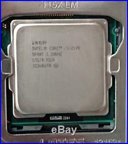 Asus Motherboard Bundle, Intel Quad Core i5, 8GB RAM, Heatsink, Backplate, USB3