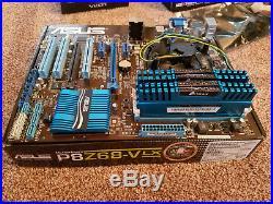Asus P8Z68-V LX Intel i5-2500K 16GB Corsair 1600Mhz DDR3
