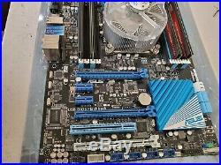 Asus P9x79 Motherboard 2011 with Intel i7 3930k cpu, 16G ram & intel HSU COMBO