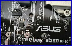 Asus Prime B250M-K 1151 + Corsair DDR4 2x4GB 2400mhz + Intel core i5 7500
