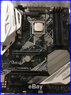 Asus Prime Z370-A, Intel i7-8700K CPU, Up Here AIO Cooler Combo! Free Shipping
