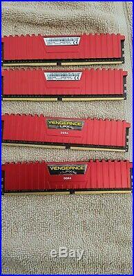 Asus Rampage V Extreme + Intel i7 5820k + 16GB Corsair Vengeance 2400 DDR4 Ram