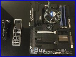 Asus Sabertooth z87 motherboard+I/O shield+ Intel i7 4770k CPU+16Gb Ram LGA 1150