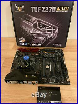 Asus Tuf Z270 Motherboard / CPU / 4GB Ram / 120 GB SATA SSD Combo