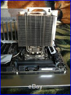 Asus X99 Deluxe + Intel i7 5930K + Noctua NH-U12P + case available