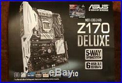 Asus Z170 Deluxe with i7 6700K
