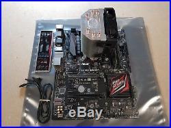 Asus Z170 Pro Gaming, Motherboard Bundle, Intel i5-6500, 3.60 GHz, DDR4 8GB