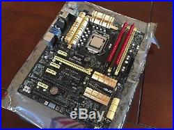 Asus Z87-Pro Motherboard, Intel i7 4770k, 16BG G. Skill TridentX 240-pin DDR3 RAM