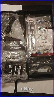 Asus rampage iv formula motherboard+extras, works with i7-3930K. LGA 2011/Socket R