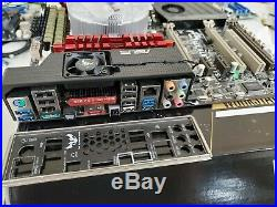 Asus sabertooth x79 MB 2011 with Intel i7 3930k cpu 32G ram & intel HSU COMBO