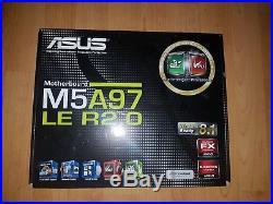 Aufrüstbundle AMD FX8350, mit Mainboard Asus M5A97 LE R2.0, 16GB Kit 2x8gb