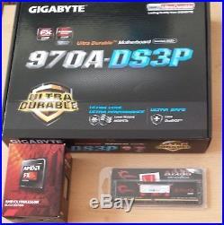 Aufrüstkit AMD FX 8320 So. AM3+ Boxed, Gigabyte Mainboard u. 8 GB DDR3 G. Skill A