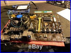 BIOSTAR TB250-BTC Motherboard Combo, Processor, Hard Drive, Ram, Win 10, Mining