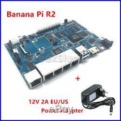 Banana PI R2 Single Board Computer Open Source Wireless Router+Power Supply