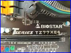 Biostar TZ77XE4, LGA 1155, Intel Motherboard + Intel i7-2600K + Win 10 Pro Combo