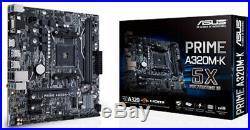 Brand New RYZEN 5 3600 + ASUS A320M-K Motherboard Combo + WINDOWS 10 + CPU FAN