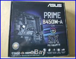Brand New RYZEN 5 3600 + New Asus Motherboard Combo + CPU FAN