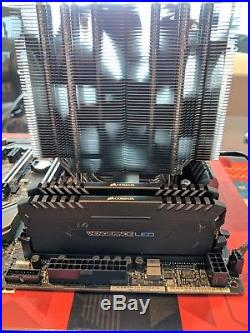 COMBO AMD Threadripper 1950X (16 cores), Asrock x399 motherboard + 64 GB DDR4