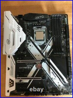 COMBO ASRock Z270 Extreme4 MOBO + Intel-i7 6700k CPU