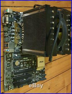 CPU / MainBoard / Ram / Kühler Aufrüstbundle Intel I7 4770k 16GB RAM USB3.1