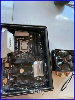 CPU Motherboard Combo I7 7700 Gigabyte Z270X UD3 motherboard, Hyper T4 Cooler