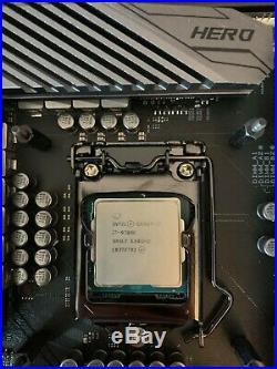CPU, Motherboard, RAM, Combo, Asus Maximus Xi i7 9700k 32GB Corsair DDr4