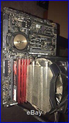 CPU i7 4790k + 32GB DDR3 + Z97-PRO Wifi AC MOTHERBOARD + Cooler Master v8 Combo