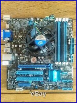 Carte Mère USB 3.0 ASUS P8B75-M + Intel Core i7-3770 Cache 8 Mo 3,4 Ghz