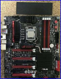 Combo ASUS Maximus V Extreme motherboard + Intel i7 3770K