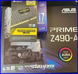 Combo Asus Prime Z490-A + i7-10700K + 32GB