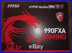 Combo Bundle AMD FX 8350, MSI 990FXA Gaming Motherboard, 2133MHz 16GB RAM