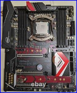 Combo Core i7 6850K + ASROCK Fatal1ty X99 Professional Gaming i7