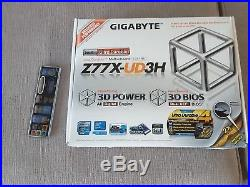 Combo Gigabyte GA-Z77X mobo + CPU Intel i7-3770 3.4GHz + 16GB DD3-2133 RAM