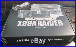 Combo Intel Core i7-5930K Processor with MSI X99A Raider Motherboard